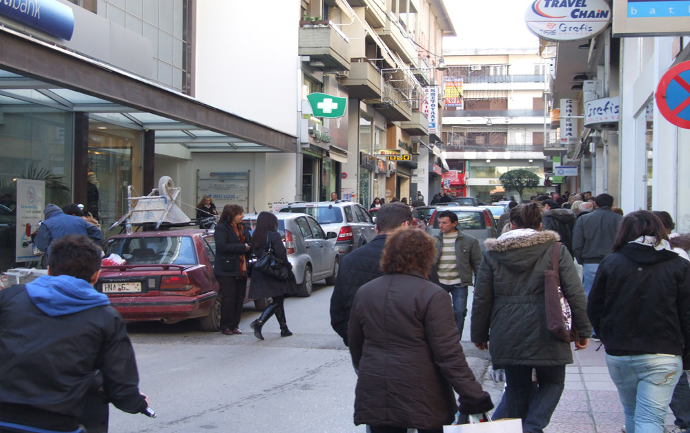Γιάννενα: Κλειστά μαγαζιά την Κυριακή ζητά ο Εμπορικός Σύλλογος Ιωαννίνων