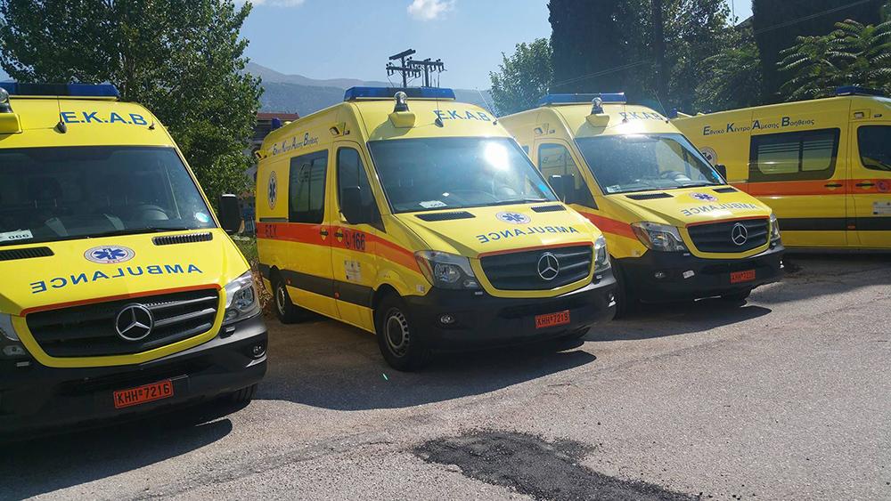 Ήπειρος: Οι συνέργειες έβγαλαν στο δρόμο τα ασθενοφόρα