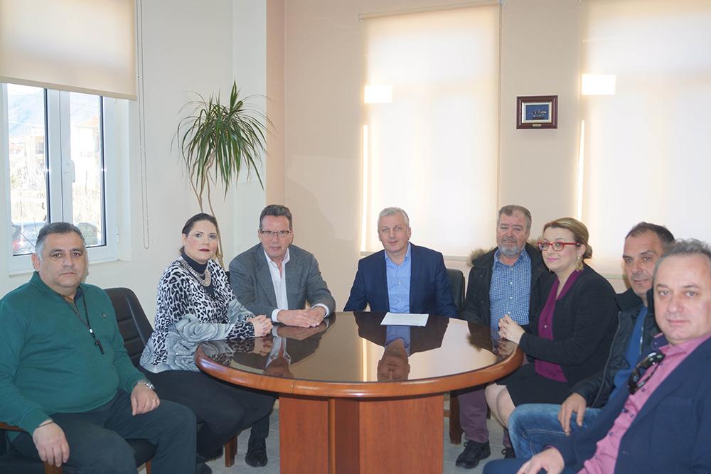 Γιάννενα: ΔΗΜΟΣ ΖΙΤΣΑΣ - Επίσκεψη στο Δημαρχείο του Ευρωβουλευτή, Γιώργου Κύρτσου