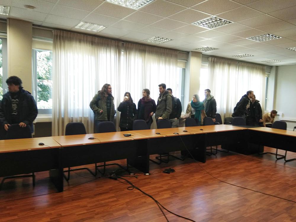 Γιάννενα: Βήματα προσέγγισης με καλή διάθεση Πανεπιστήμιο Αστικό ΚΤΕΛ και φοιτητών.