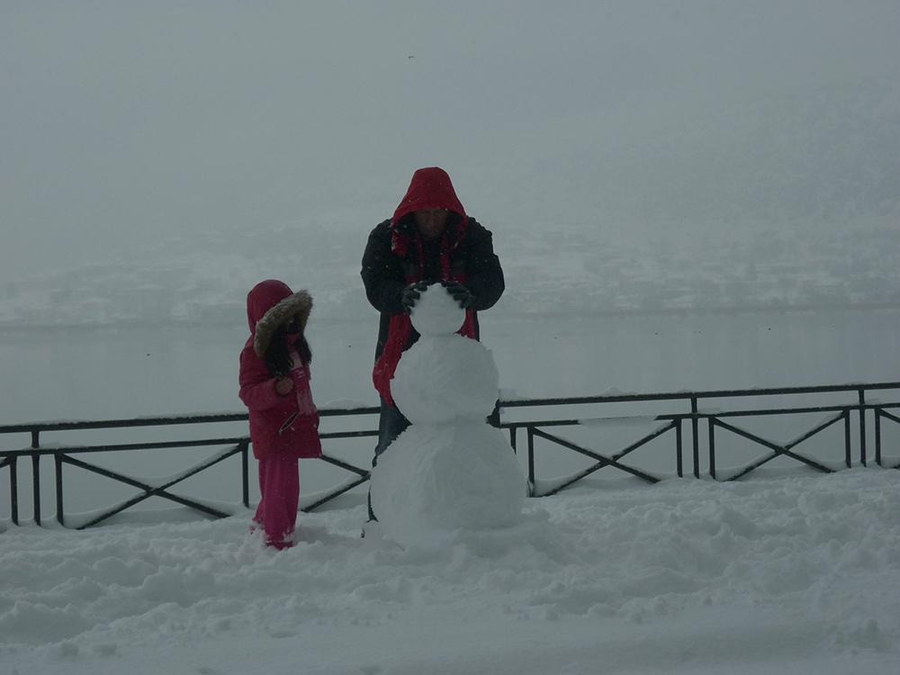 Γιάννενα: ΠΟΛΙΤΙΚΗ ΠΡΟΣΤΑΣΙΑ - «Μάχη» με τα χιόνια το Σαββατοκύριακο